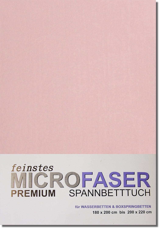 Microfaser-Jersey-Spannbetttuch 180 bis 220 cm GOLD