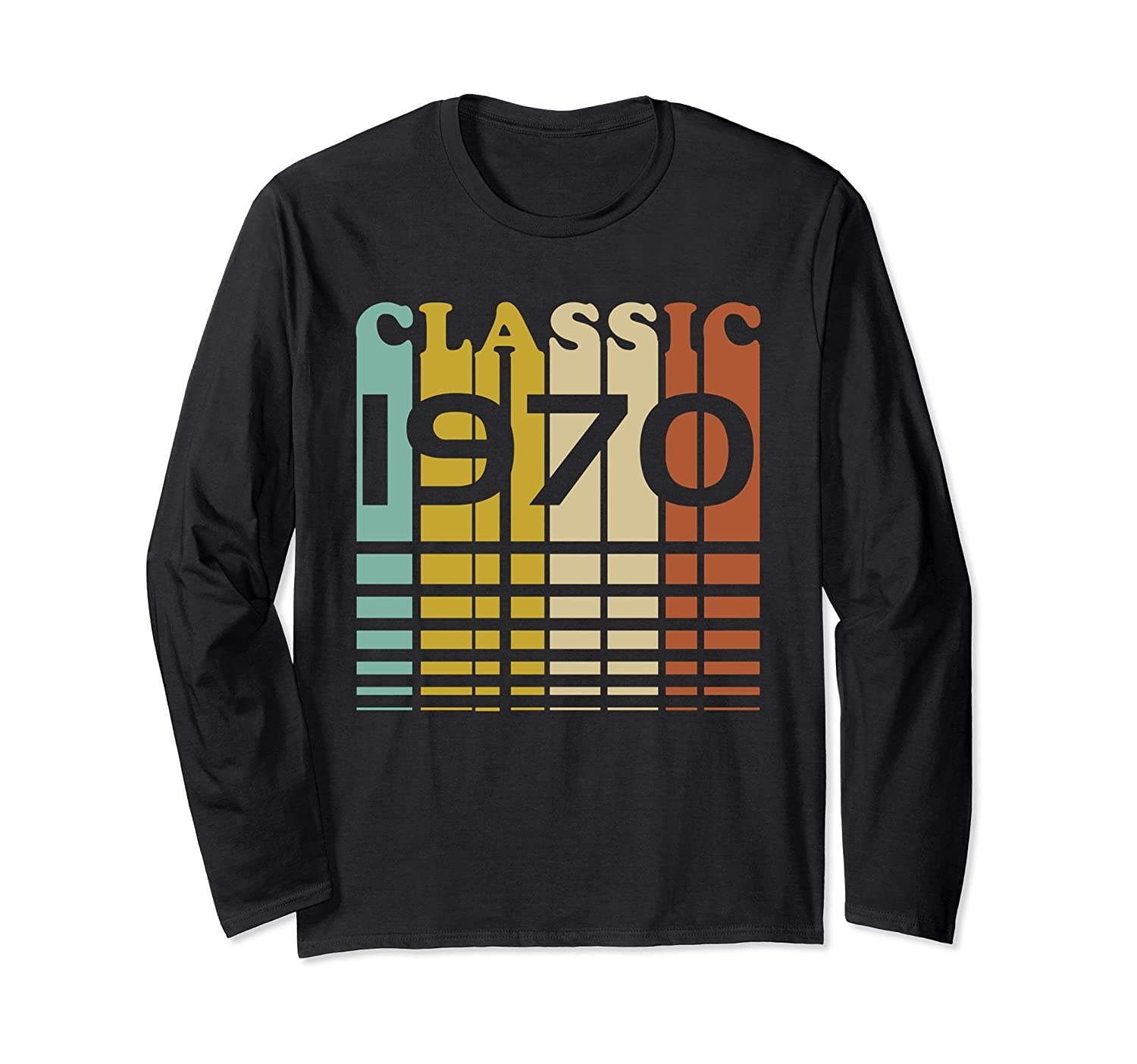 1970 Classic Birthday 47th B-Day Gift Long Sleeve Shirt-Rose