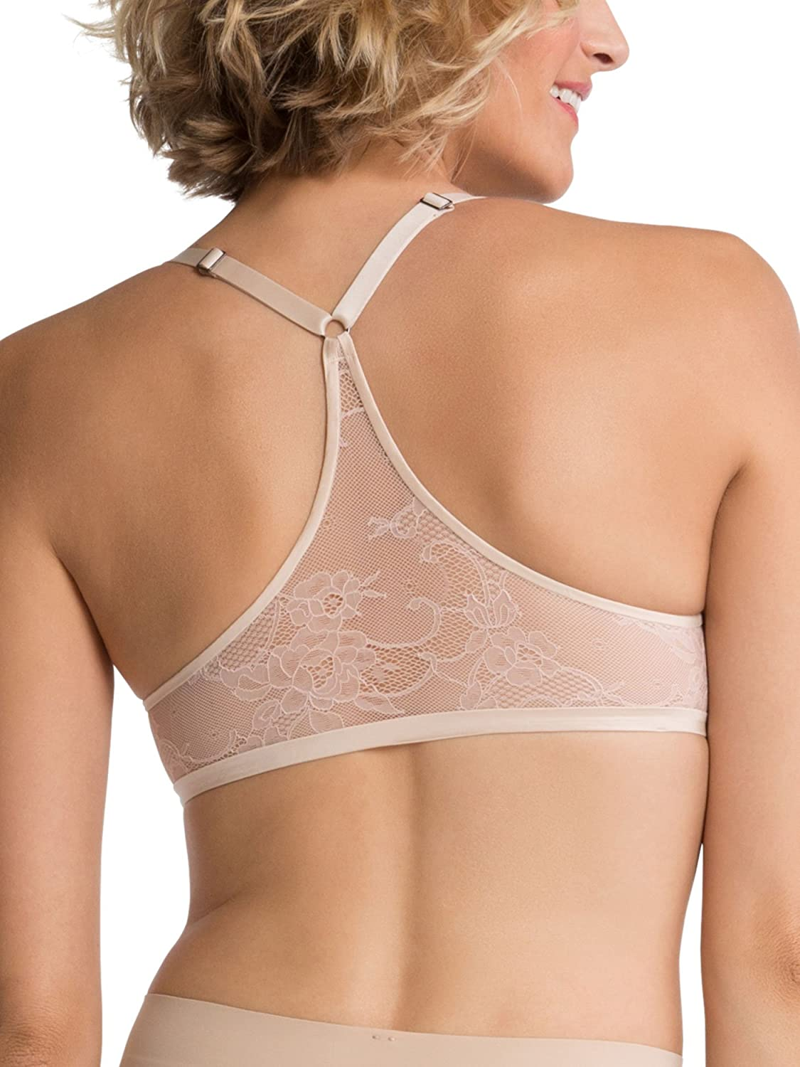 698dad8c953 SPANX Women s Pillow Cup Lace Racer Back Bra  Amazon.ca  Clothing    Accessories