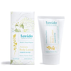 Lavido - Natural Aromatic Body Lotion (Mandarin) (4.05 fl oz | 120 ml) | Clean, Non-Toxic Skincare