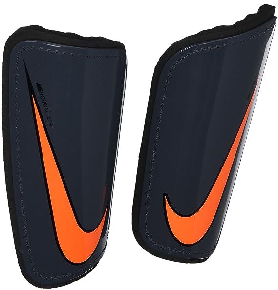 Nike NK Merc Hrdshl Grd-fa16?- Parastinchi da calcio, da Uomo, UOMO, SP2101 089_S, Grigio/Nero/Arancione (gris (dark
