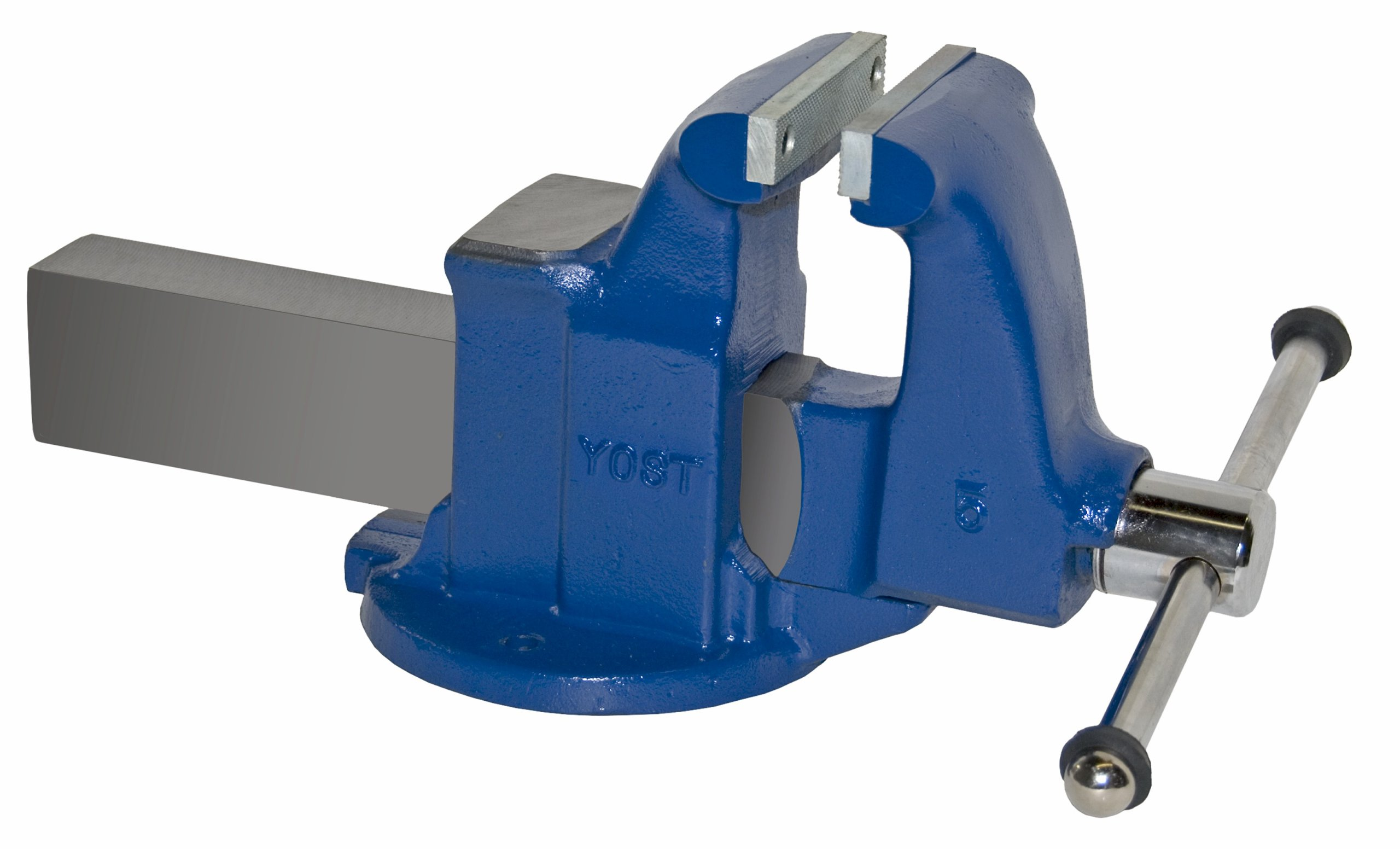 Yost Vises 105 5'' Machinist Vise with Stationary Base, Made in US