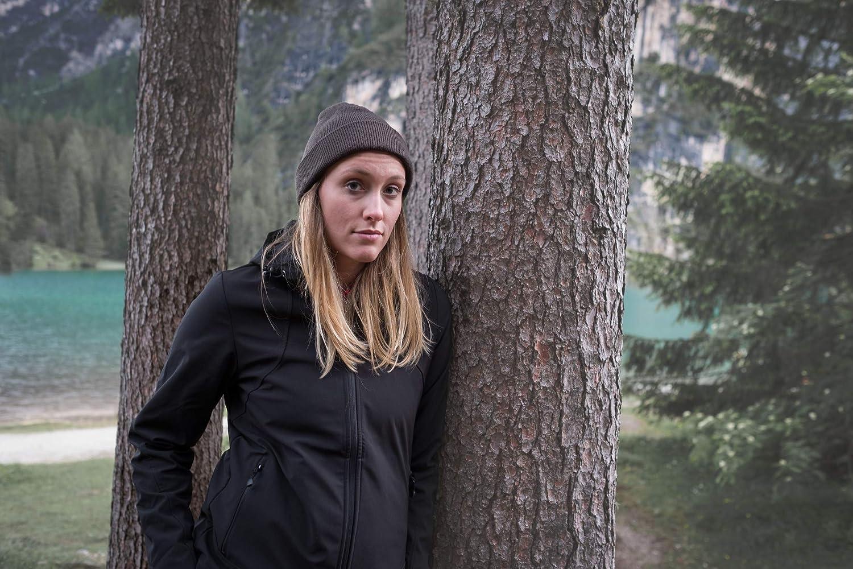 Axant Softshell 42 Modèle Noir Femme 2018 Veste Alps Polaire rtQhCsd