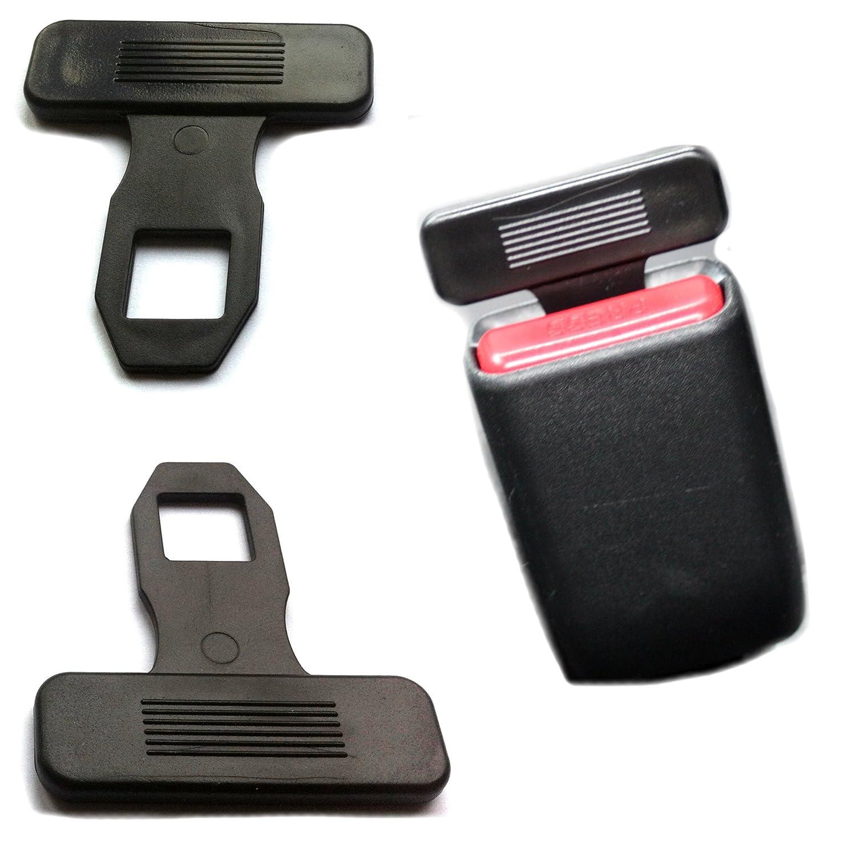 Tapones de válvula König 2 x Anti correa Warner Cinturón de Seguridad Correa Conector correa Alarma Antirrobo Alarma Tope de compatible con Universal ...