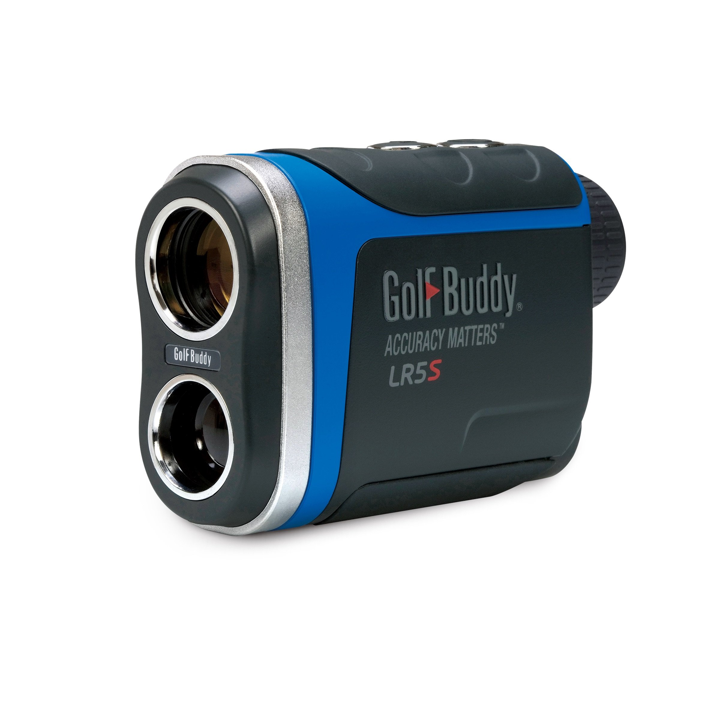 GolfBuddy LR5S Golf Laser Rangefinder with Slope, Dark Gray/Blue