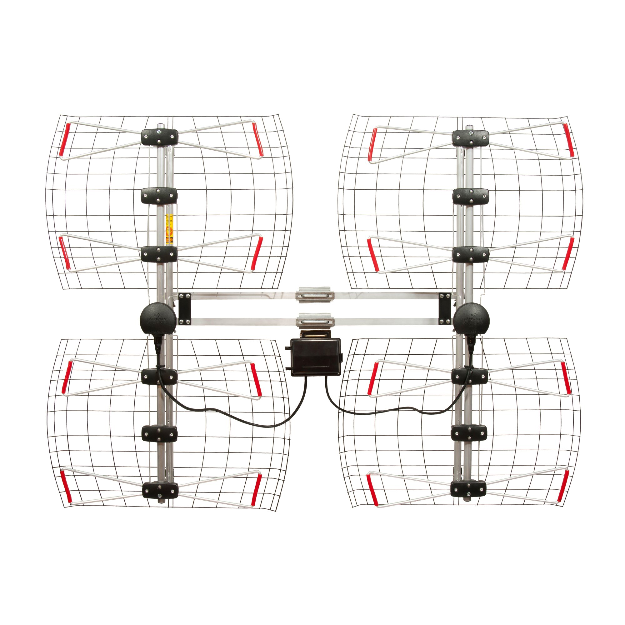 8 Element Bowtie Indoor/Outdoor HDTV Antenna - 70 Mile Range by Antennas Direct