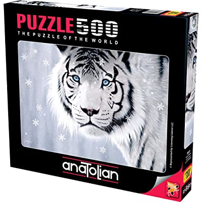 Anatolian Puzzle - Crystal Eyes, 500 Piece Jigsaw Puzzle, 3613, Brown/a (ANA3613): Toys & Games