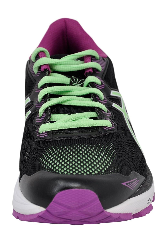 ASICS Women's Gt-1000 5 Running Shoe B077XN4788 9 B(M) US|Black/Green/Orchid