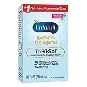 Enfamil Tri-Vi-Sol Liquid Vitamins A, C & D Supplement for Infant, 50 mL dropper bottle