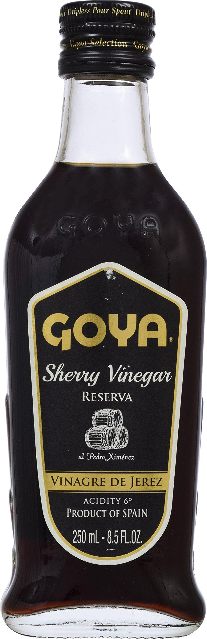 Goya Foods Sherry Vinegar Reserve, 8.5 Ounce