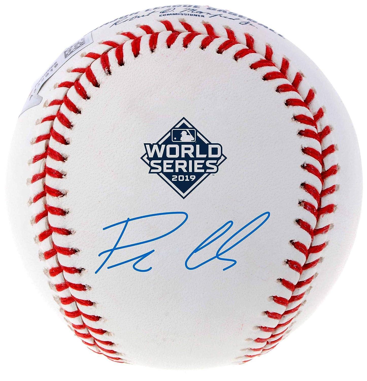 Patrick Corbin Washington Nationals Autographed 2019 World Series Champions Baseball Fanatics Authentic Certified
