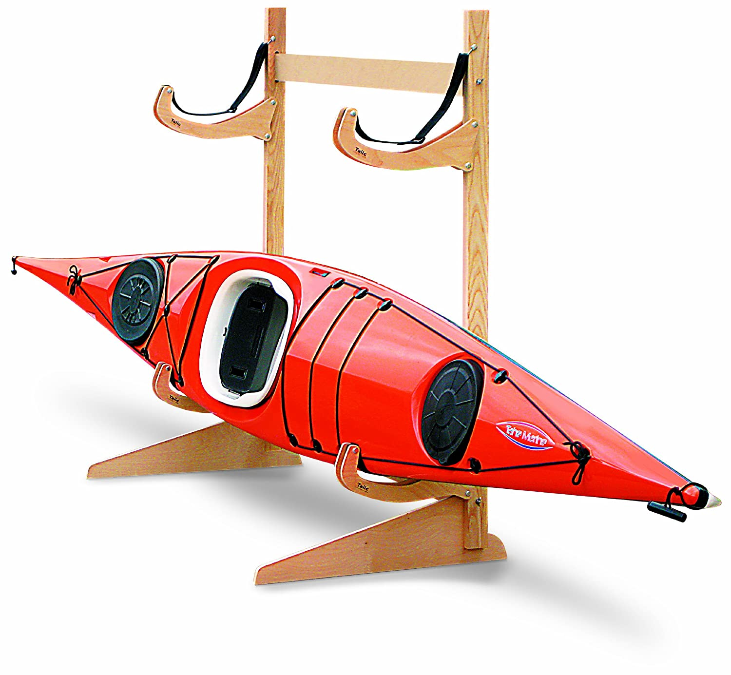 Amazon.com : Talic Cayuga   2 Boat Freestanding Kayak Storage Rack : Indoor Kayak  Storage Racks : Sports U0026 Outdoors