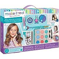Make It Real - Mega Mermaid Makeover. Mermaid Themed Girls Makeup Kit. Starter Cosmetic Set for Kids and Tweens…