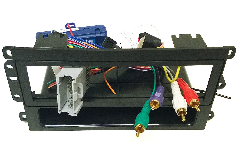 Amazon double din dash kit wire harness steering wheel