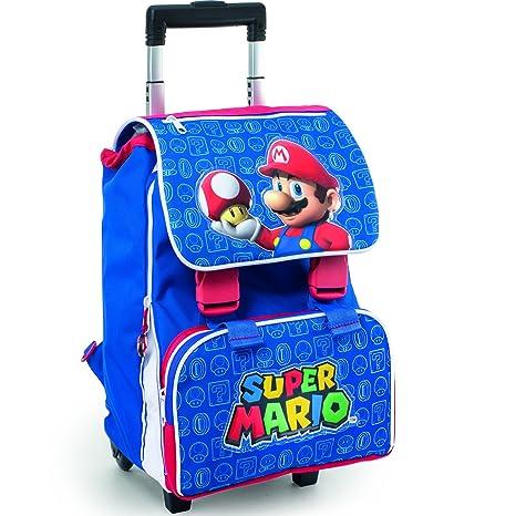 3d402ac51 Super Mario - Zaino/Trolley Estensibile: Amazon.it: Valigeria
