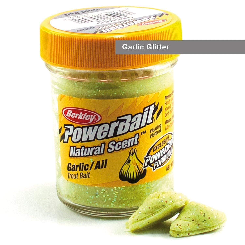 Berkley Powerbait naturale profumo Glitter troutbait, Yellow PowerBait FW BGTGY2