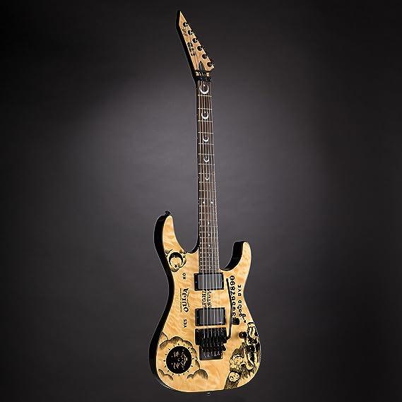 Esp Ltd Edición limitada Kirk Hammett firma KH Ouija guitarra ...