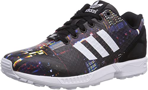 adidas originals zx flux sneakers damen schwarz weiß