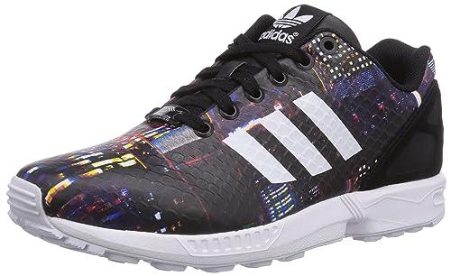 adidas Originals ZX Flux Damen Sneaker Schwarz | real