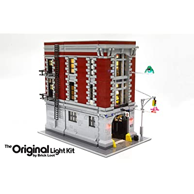Brick Loot Lighting Kit for Your Lego Ghostbusters Firehouse Headquarters Set 75827 (Lego Set NOT Included): Toys & Games