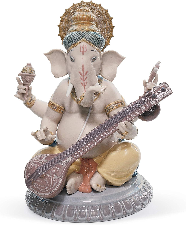B001ELKZZE Lladró Veena Ganesha Figurine 812LDuG3gOL.SL1500_