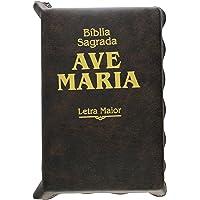 Bíblia Sagrada: Letra Maior - Marrom - Zíper