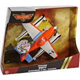 Disney Planes Toy - Pontoon Dusty Deluxe Talking Plane with Moving Propeller