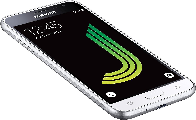 """Samsung Galaxy J3 – Smartphone de 5"""", Color Blanco: Amazon.es: Electrónica"""