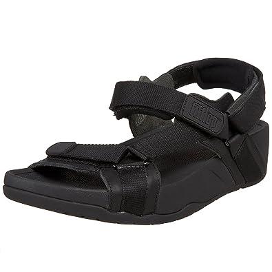 c3e8782b45b Fitflop Men s Hyker Sandals Black Size  9  Amazon.co.uk  Shoes   Bags