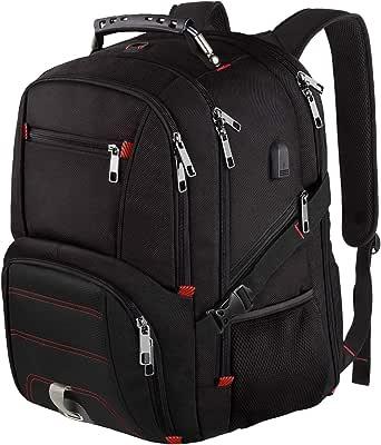 Extra Large Travel Laptop Backpack TSA Friendly Durable College School Bookbag