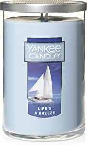 Yankee Candle Large 2-Wick Tumbler Candle, Life's a Breeze