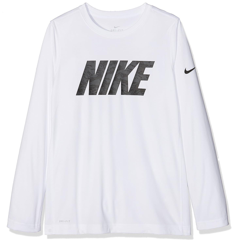 Nike B NK Dry Top LS GFX Legacy Maglietta, Bambini