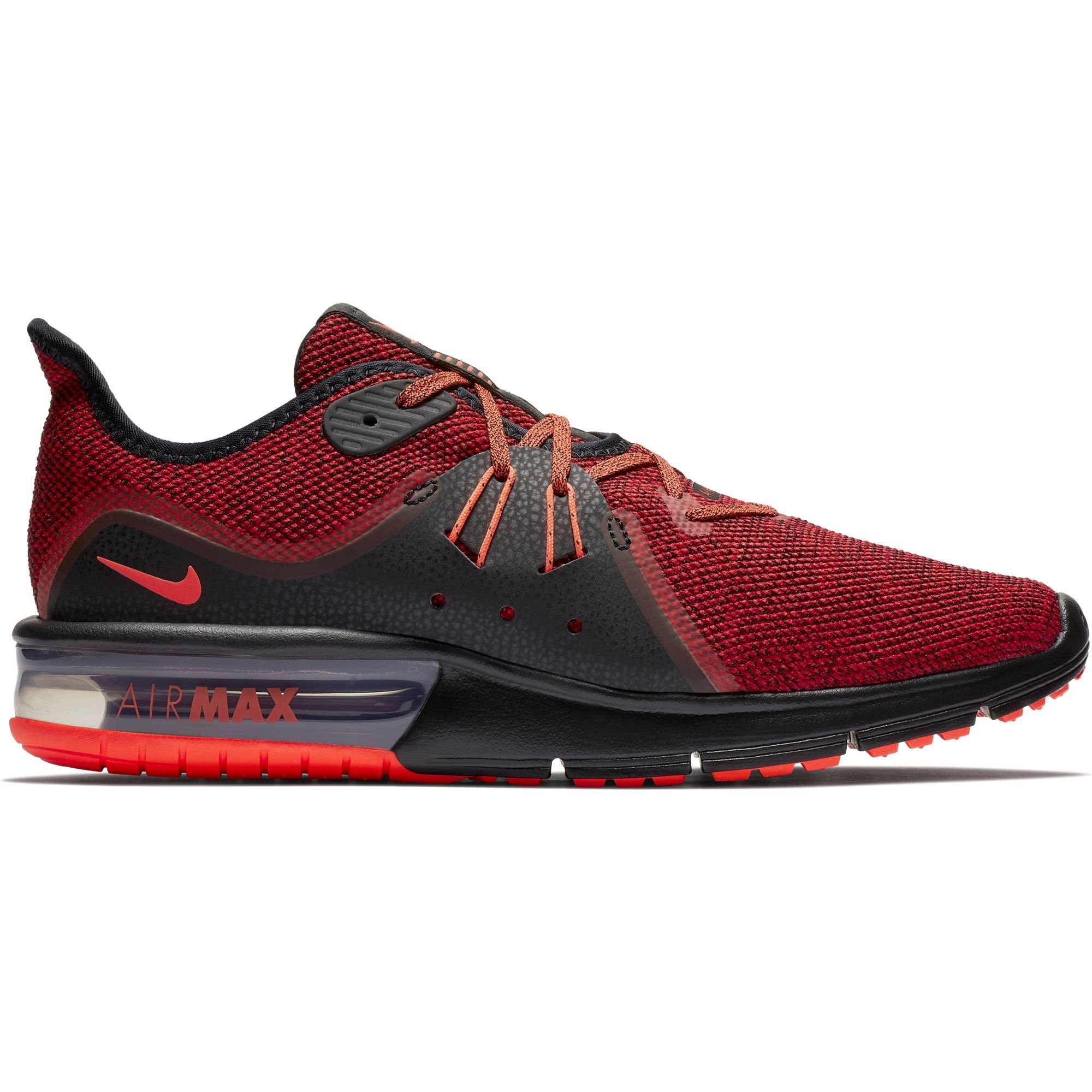 watch 81d48 fc621 Galleon - Nike Men s Air Max Sequent 3 Running Shoes (10 D(M) US,  Black Total Crimson University Red)