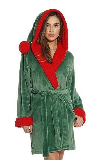 6368-Elf-XL Just Love Critter Robe / Robes for Women