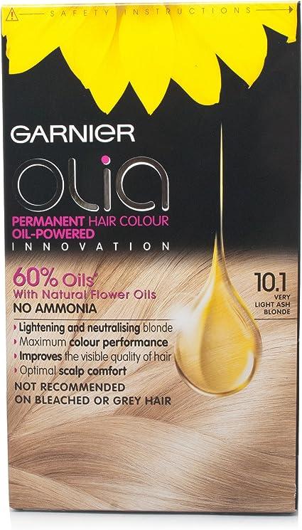 Garnier Olia 10.1 Rubio ceniza muy claro: Amazon.es: Belleza