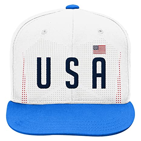 d40304c5543 Outerstuff World Cup Soccer United States Mens -Jersey Hook Flag Snapback