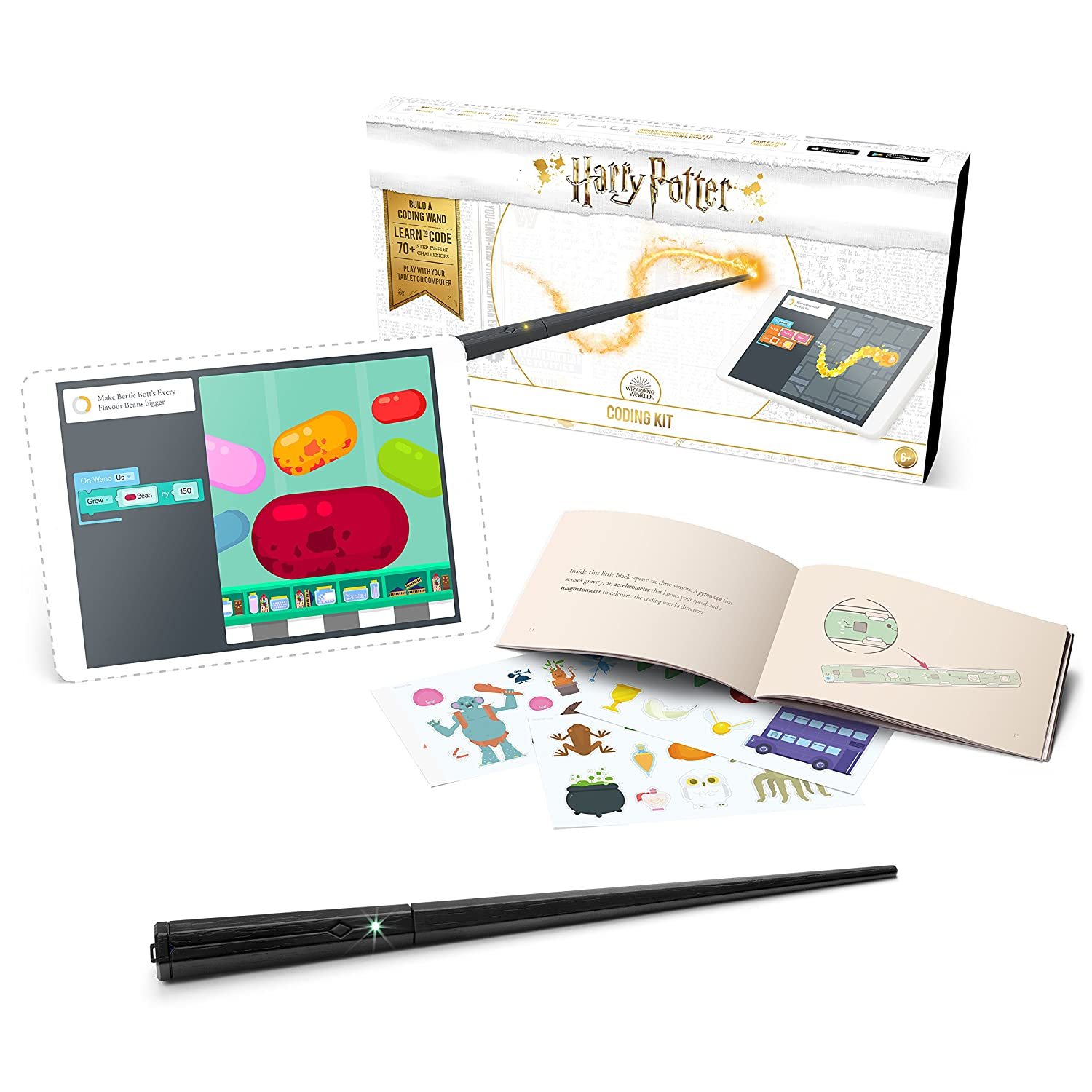 Kano Harry Potter Coding Kit – Build a Wand. Learn To Code. Make Magic. 1007