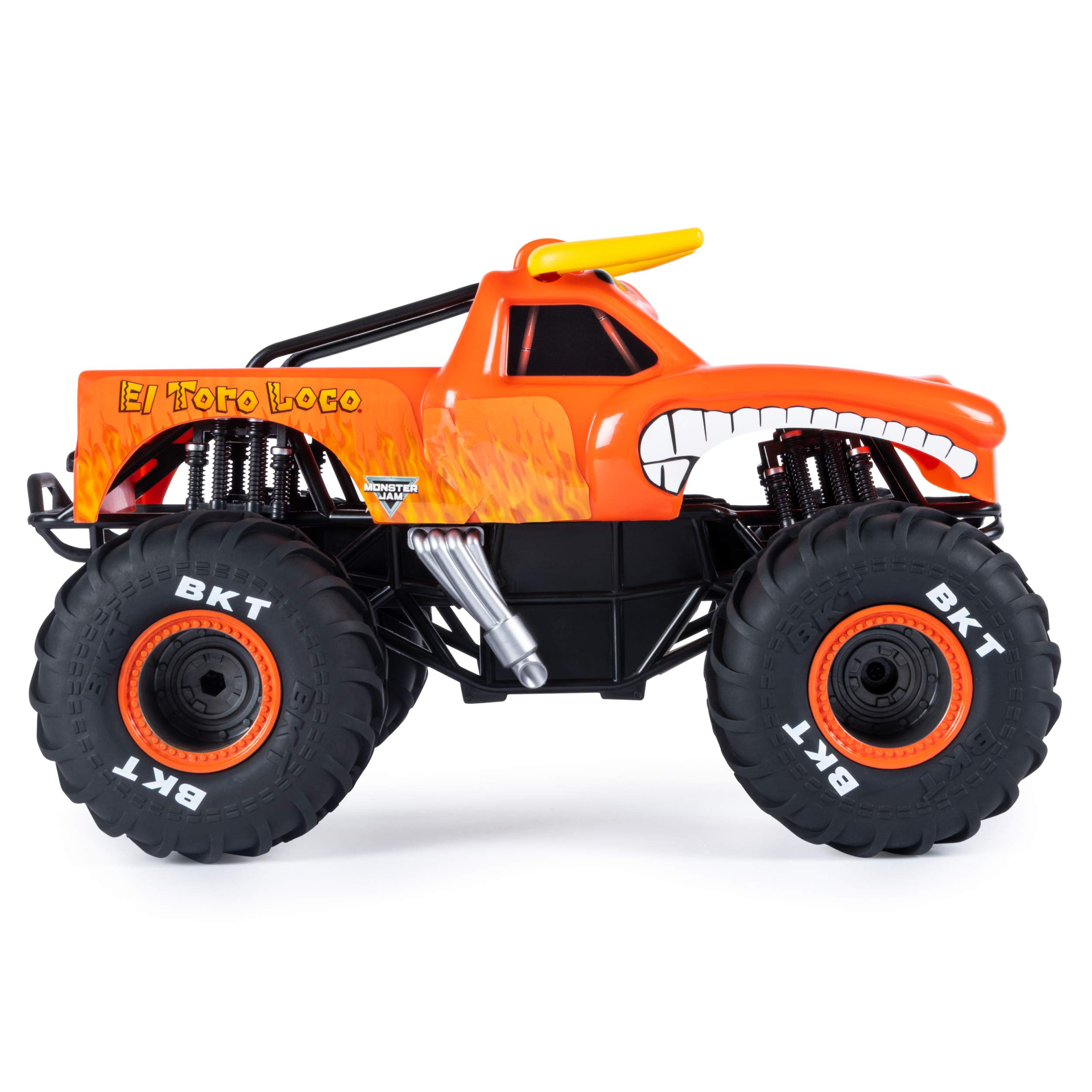 Monster Jam Official El Toro Loco Remote Control Monster Truck, 1:15 Scale, 2.4 GHz by Monster Jam (Image #7)