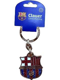 FCB FC Barcelona - Llavero f.c. Barcelona Escudo Plateado ...