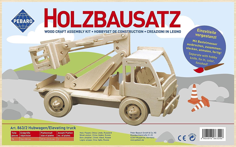 Cami/ón hidr/áulico de madera Donau Elektronik M863-2