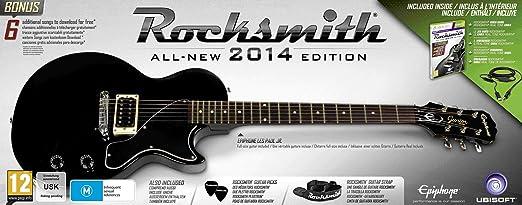 Rocksmith 2014 Edition And Epiphone Les Paul Guitar [Importación Inglesa]: Amazon.es: Videojuegos