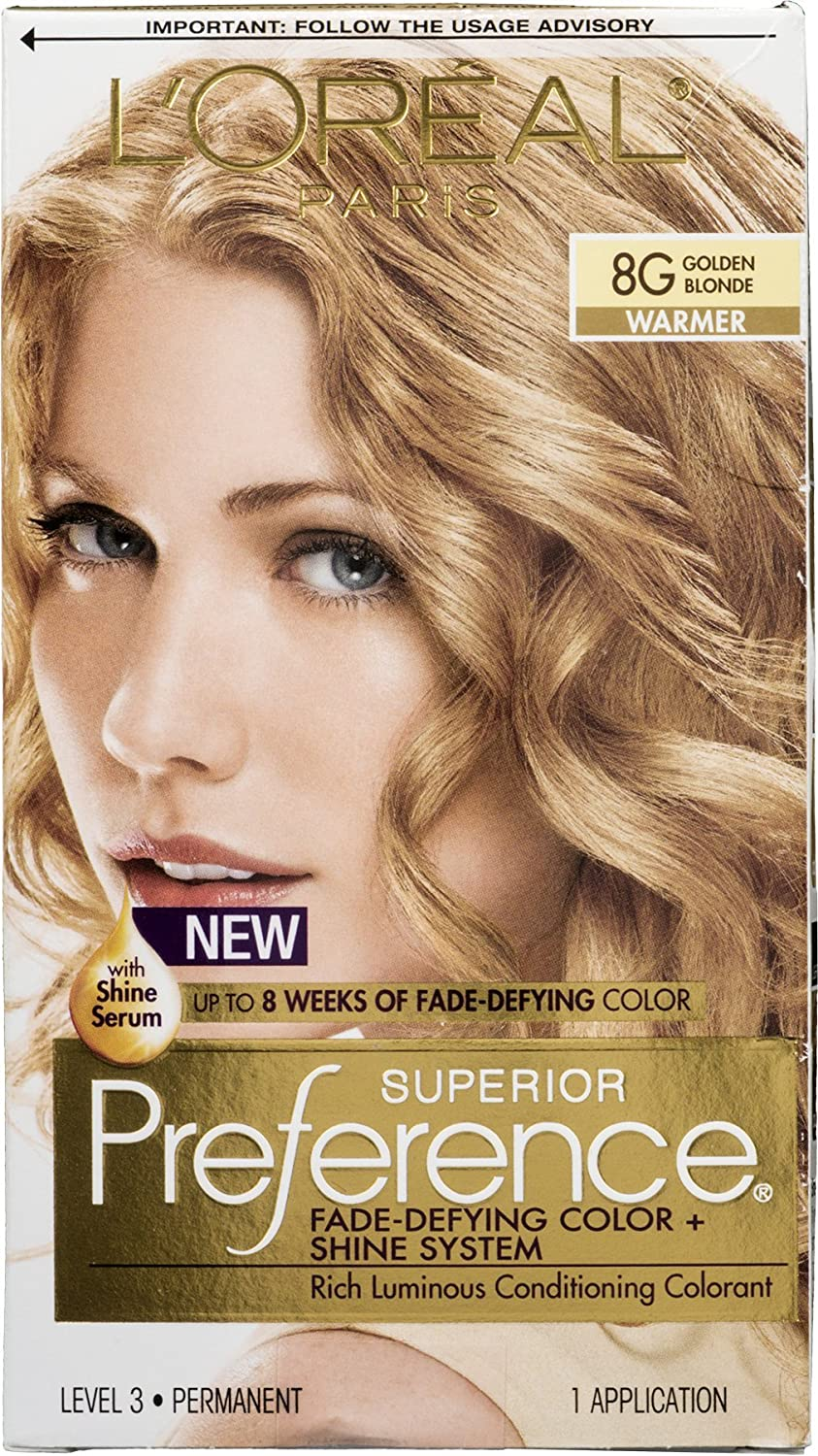 Delicate Pref Haircol 8g Size 1ct Loreal Preference Hair Color