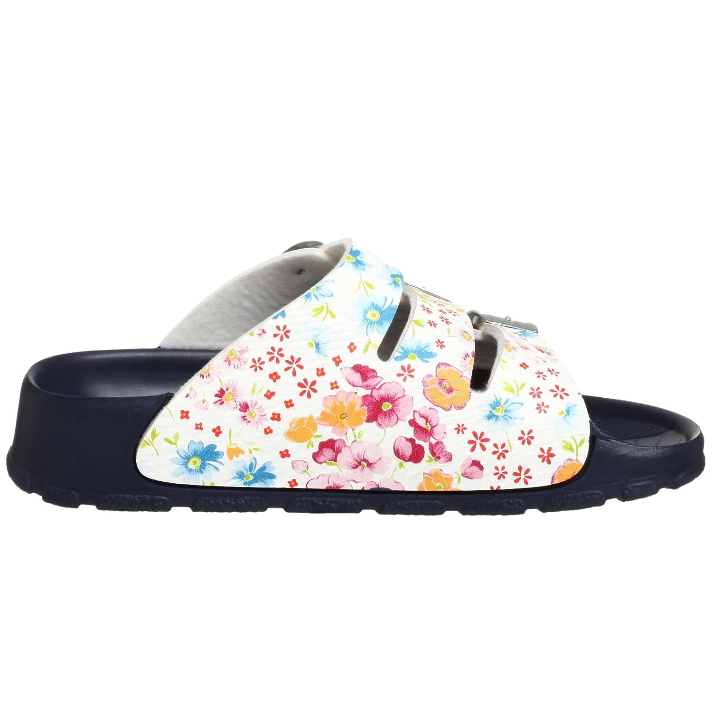 Birki's Sansibar Sandal B0012YK7V0 36 N EU (US Women's 5 N)|Magic Flower White