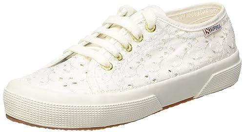 Tg. 36 Superga 2750 Scarpe da Ginnastica Donna colore Bianco White tagl