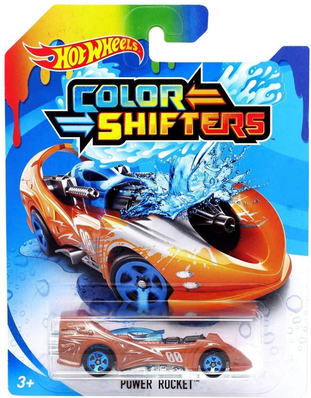 Hot Wheels Colour Shifters - Power Rocket