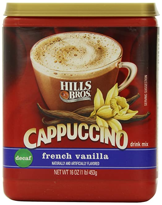 Hills Bros. Cappuccino Decaf French Vanilla