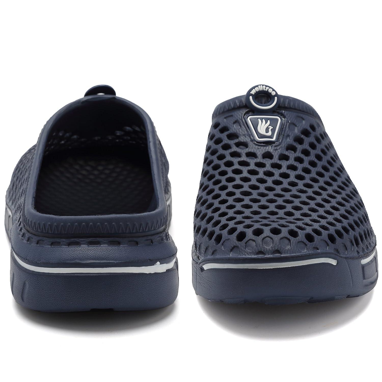 welltree Sandalias de jardín para hombres Unisex Zapatos de mujer Sandalias  de secado rápido Armada 8bf4bf83af9f