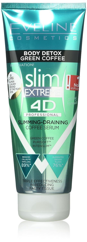 Eveline Cosmetics Slim4d Body Deco Green Coffee Anticellulite Serum 250 ml 5901761916317