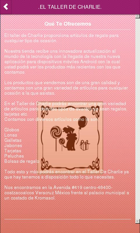 EL TALLER DE CHARLIE.: Appstore for Android
