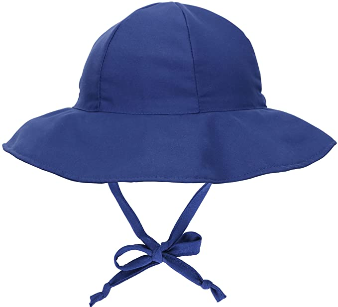 SimpliKids UPF 50+ UV Ray Sun Protection Wide Brim Baby Sun Hat